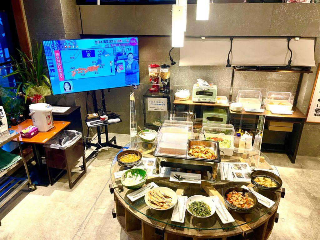 パークホテル刈谷朝食会場の風景です!